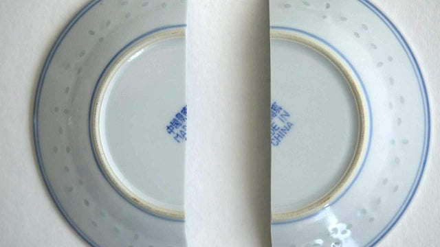 Use Heated Milk to Repair Your Cracked China