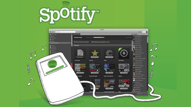 Spotify Totally Just Added iPod Syncing to its Streaming and (New) Download Service