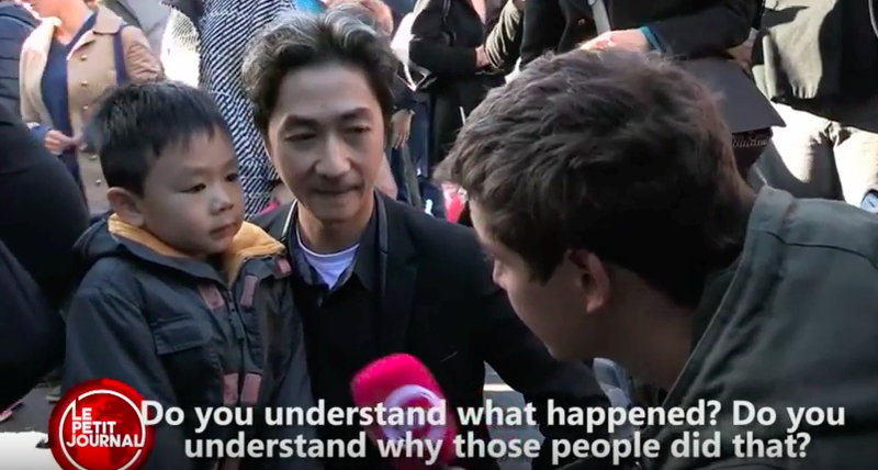 This Video of a Father's Explanation to His Son About the Paris Attacks Went Hugely Viral