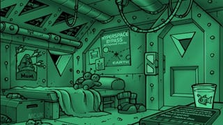 The Secret Interior of a Vogon Captain's Quarters