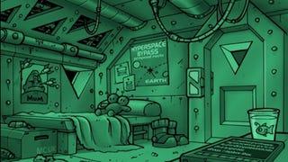 The Secret Interior of a Vogon Captain's Quarters