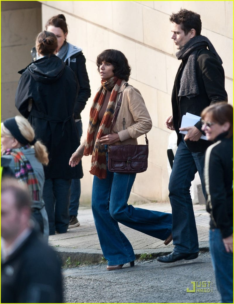Cloud Atlas set photos