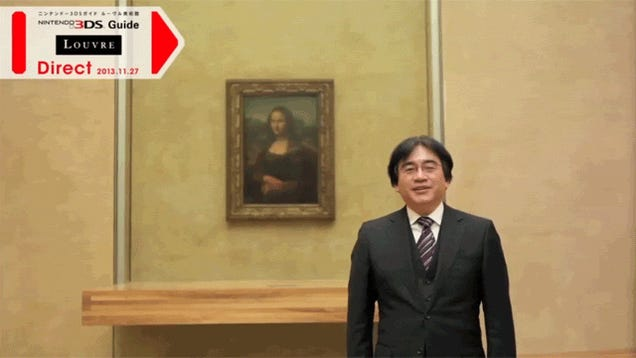 Nintendo's 3DS Louvre Guide Is Even Better With Iwata And Miyamoto