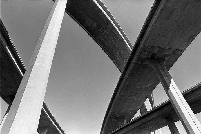 L.A.'s Interchanges Are Beautiful (If You're Not Stuck in Traffic)