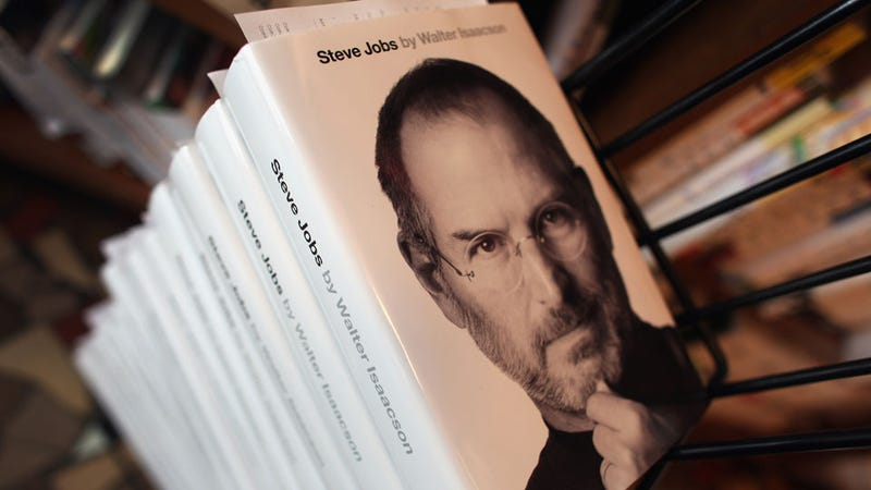 Steve Jobs Has a Monster Best Seller After Saying 'People Don't Read Anymore'