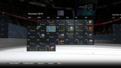NHL Games Now Streaming Onto PS3
