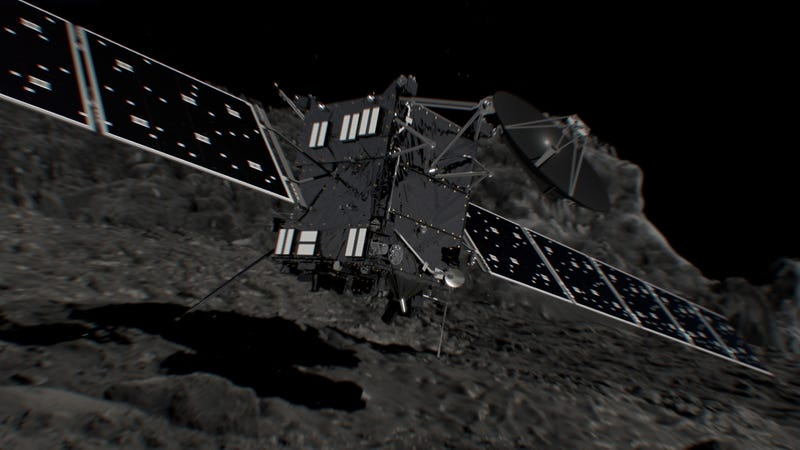 Everything You Need to Know to Watch Rosetta Crash Into a Comet This Week