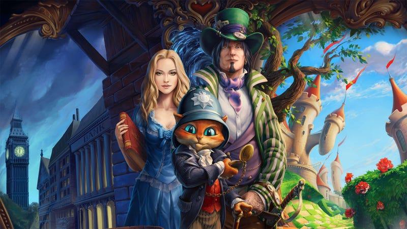 One Part Alice in Wonderland, One Part Sherlock Holmes