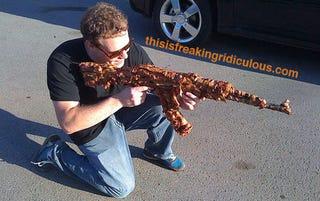 The BA-K-47 Doesn't Fire Bullets, But It Does Slay PETA Activists