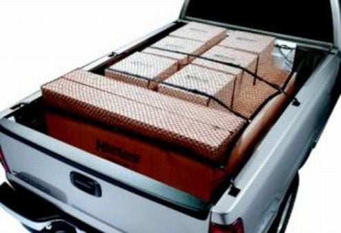 Truck Bed Cargo Net Secures Your Junk, Sans Bungee Mess