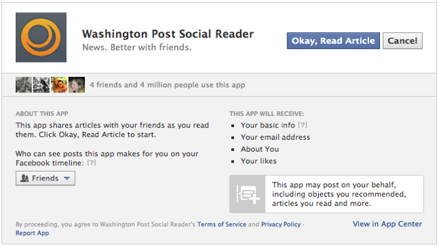 No Facebook, I Do Not Want to Add That Open Graph Social App to My Page