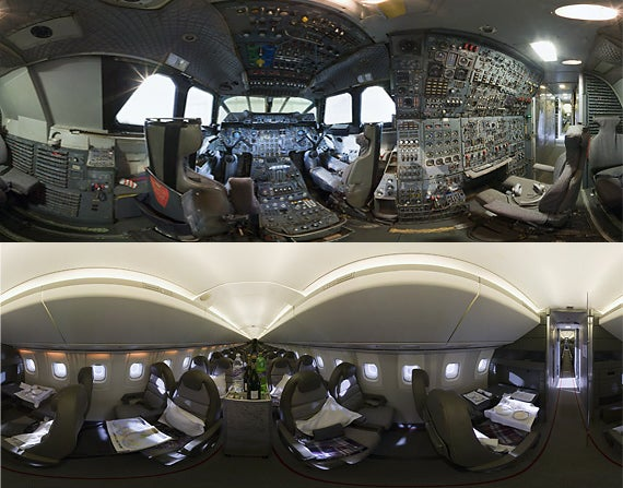 Climb Inside a Concorde With These 360 Degree Panoramas