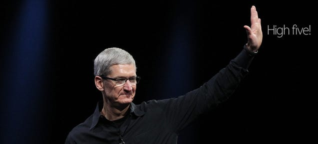 Tim Cook Talks Privacy, Watch Batteries and the Future of TV