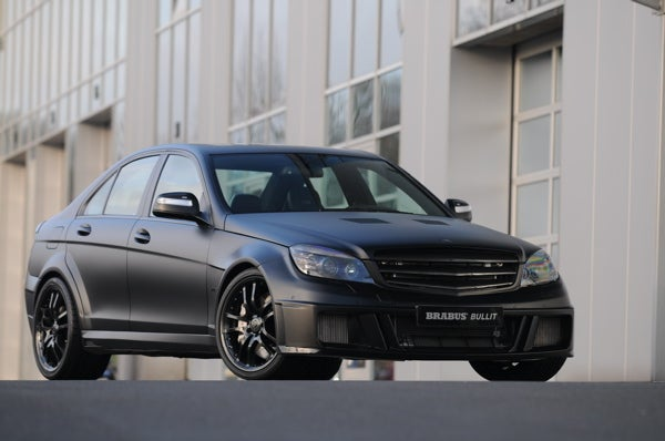 BRABUS Bullit Black Arrow Is Blacker Than Ever