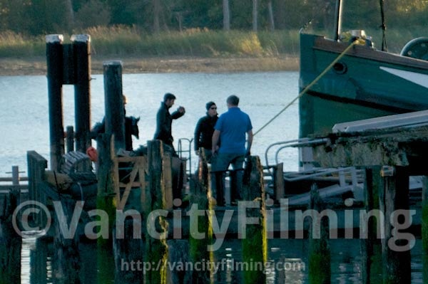 Once Upon a Time Set Photos Captain Hook Scenes