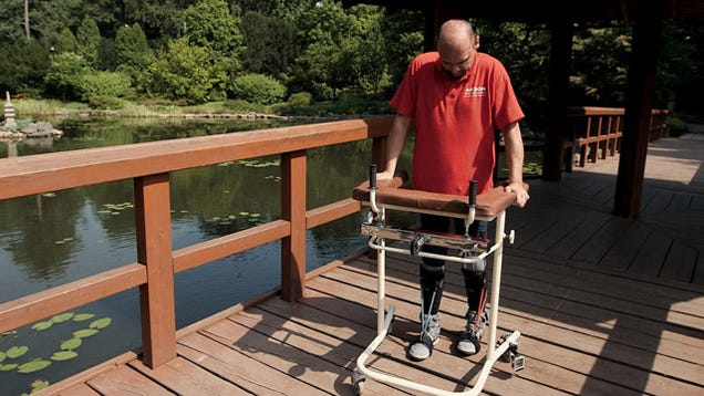 Paralyzed Man Walks Again After Brain Cells Are Injected into His Spine