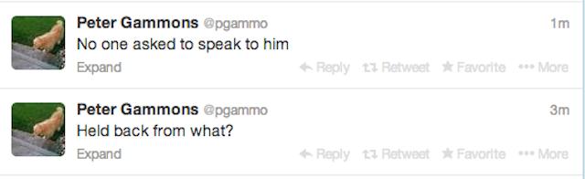 Peter Gammons: Still Really Bad At Twitter