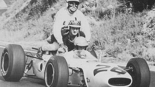 The 3-seat variant of the Honda RA272