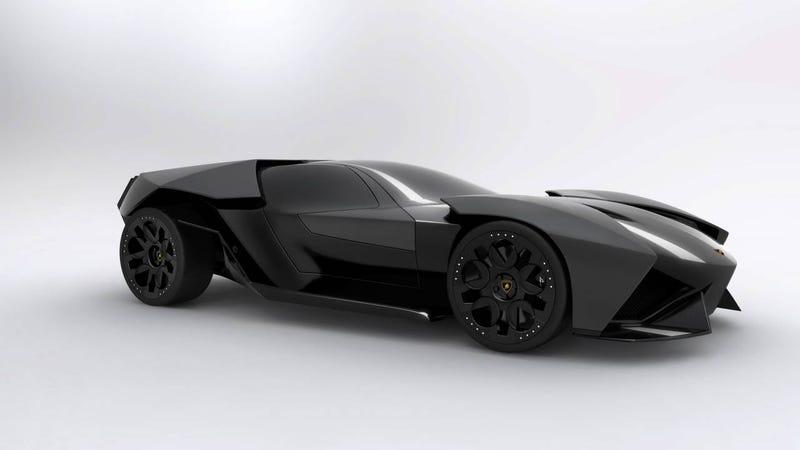 Lamborghini Ankonian: Concept Photos