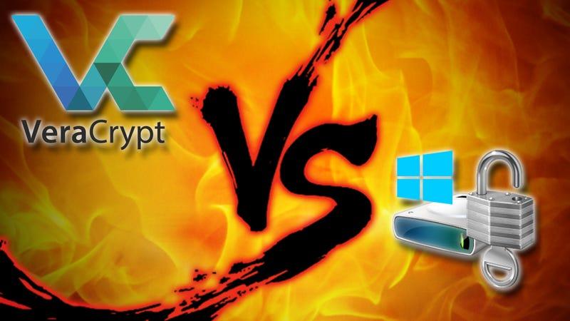 Windows Encryption Showdown: VeraCrypt vs Bitlocker