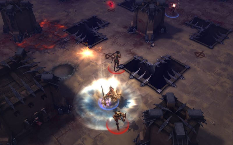 Eight Screens And More Info On Diablo III's PVP Arenas