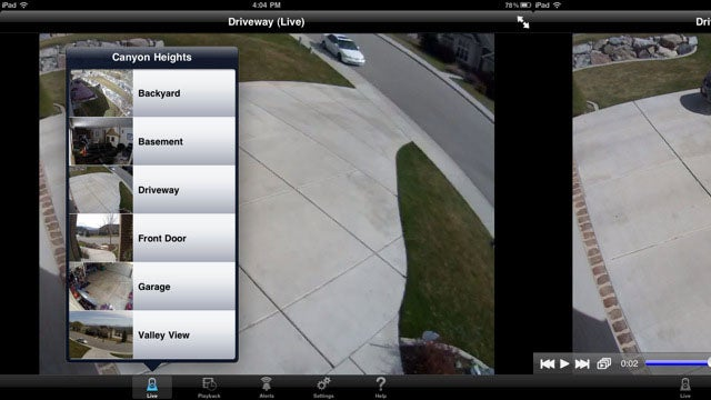 Control Your Logitech Security Cameras from Your iPad