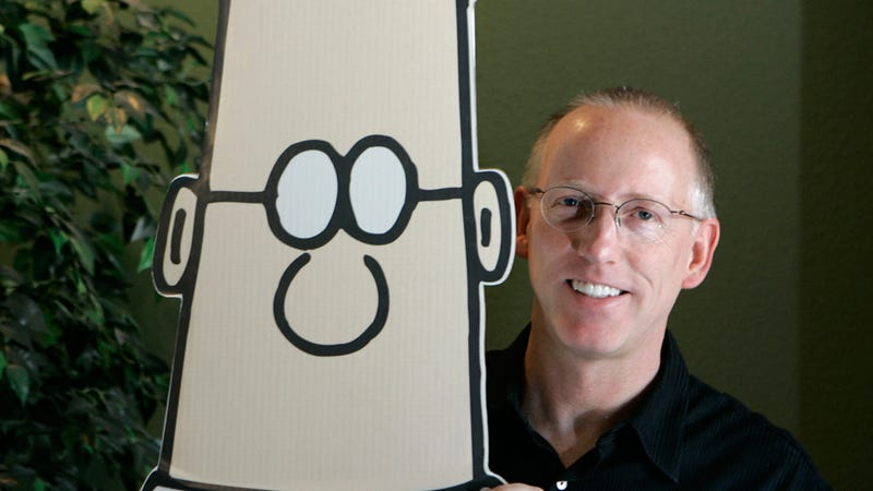 Dilbert Creator Scott Adams Endorses Mitt Romney For the Stupidest Possible Reason