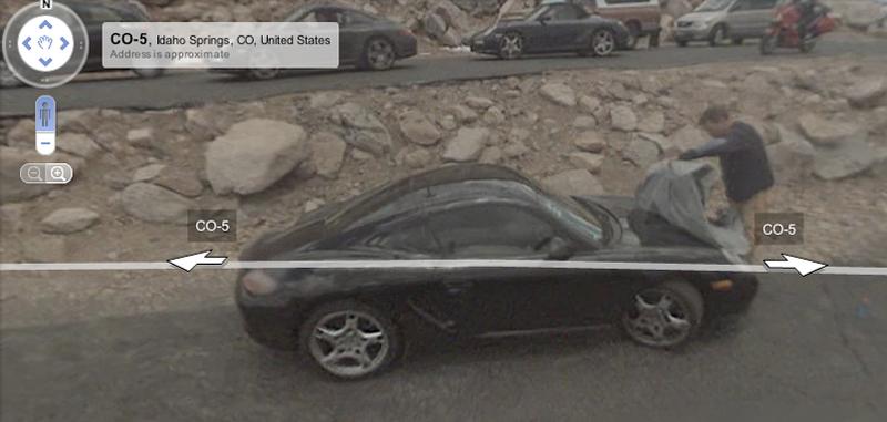 Google Street View Captures Prototype Porsches