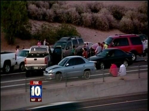 69-Car Pileup Closes Arizona Interstate