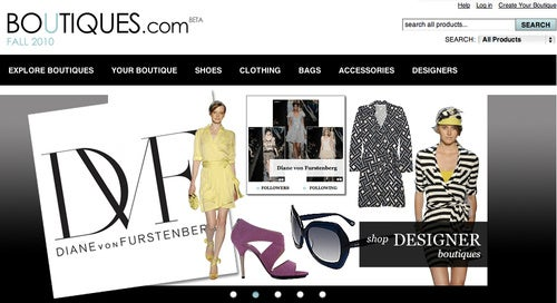 Google's Boutiques.com Website and iPad App Launches