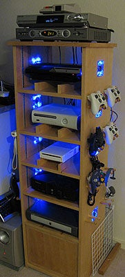 Ultimate DIY gamer's cabinet
