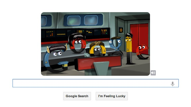This Playable Star Trek Google Doodle Celebrates 46 Years of the Enterprise