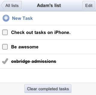 Gmail Adds Tasks to the iPhone, Mobile Browsers, and iGoogle