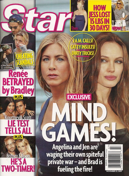 This Week In Tabloids: Angelina's Adoption & Drug Rumors; Tom Talks To Ashtrays