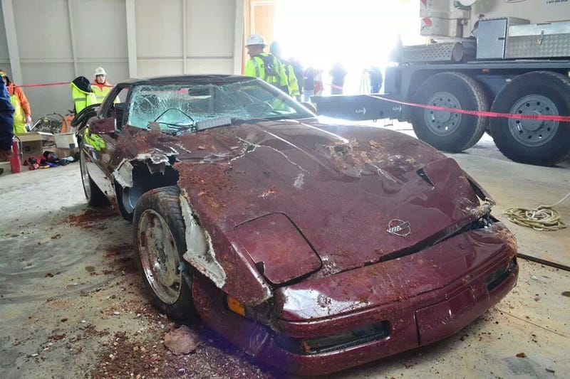The sinkhole Vette no one is talking about