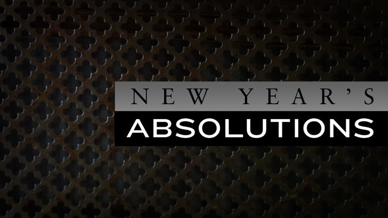 New Year's Absolutions: An Exercise in Unburdening Guilt Before 2013