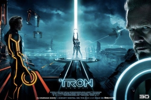 Final Tron Legacy poster pieces together the Tron City skyline