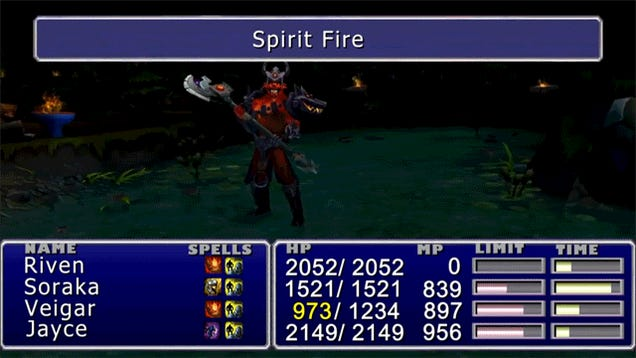 League of Legends, Turned Into Final Fantasy VII... Has Potential