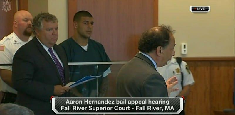 Aaron Hernandez's Appeal For Bail Has Been Denied