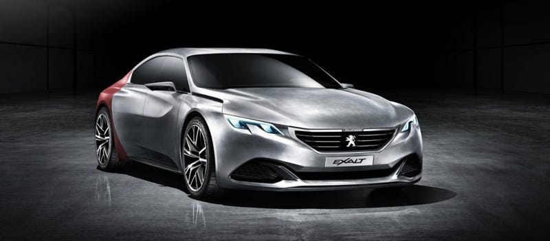 Leaked Image Shows Peugeot's Most Exciting Sedan Yet