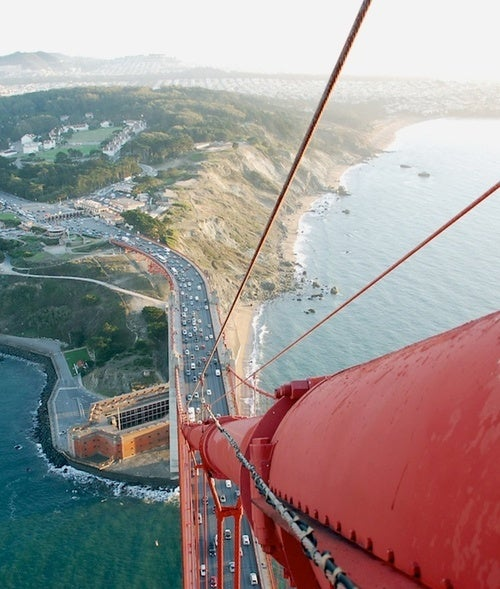 Golden Gate Bridge: View From The Top