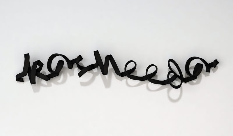 3D-Printed Fonts Spell Out Whatever You'd Like Them To