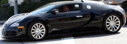 Simon Cowell Drives A Bugatti Veyron