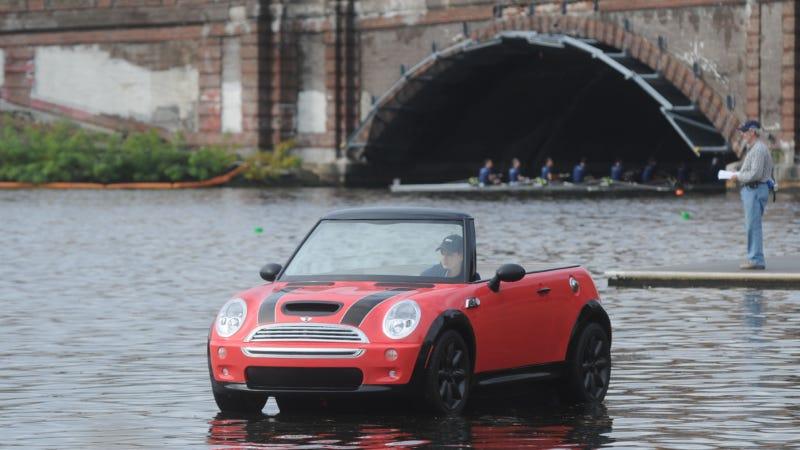Ahoy, Mateys! This Be A Sea-Farin' Mini Cooper