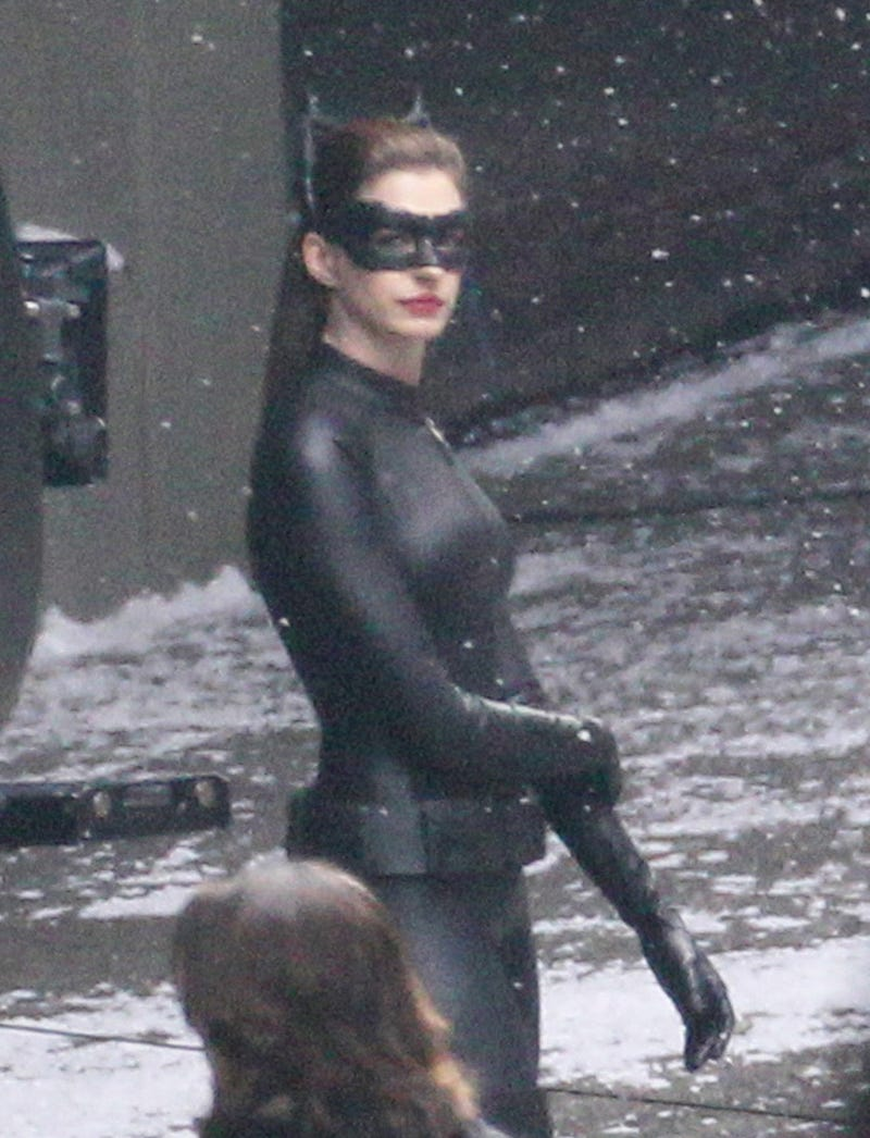 The Dark Knight Rises — 30 Catwoman Set Pictures
