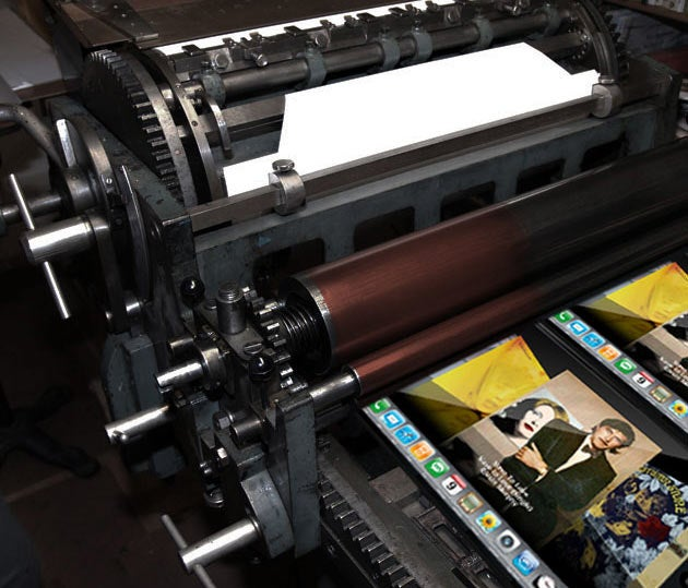 Pondering The Apple Tablet's Print Revolution
