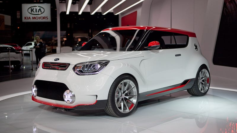 Kia Track'ster Concept: A 250-hp AWD Kimchi-Flavored Hatch