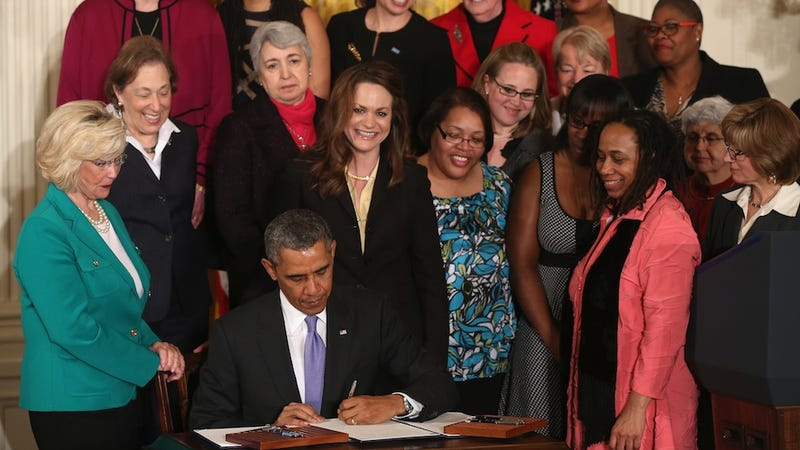 Republicans Prove They Love the Ladies By Killing Equal Pay Bill