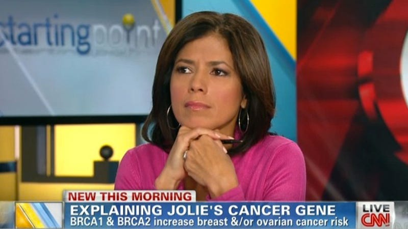 Inspired by Angelina, CNN Anchor Reveals Her Own Impending Mastectomy