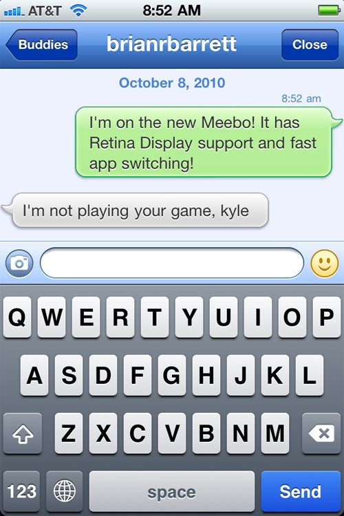 Meebo For iPhone Gets Retina Display Support and Multitasking